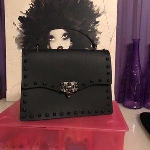 Beautiful Black Matte Bag